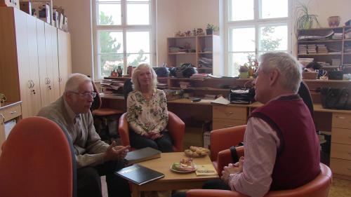 Návštěva ředitele ZŠ Brandýs nad Orlicí