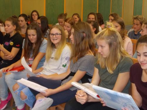 Soustředění sborů v Blansku - 11.10 - 13.10 2017