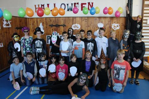 Halloween na Nádražce