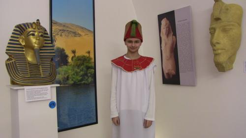 Dějepisný kroužek - Egypt - dar Nilu