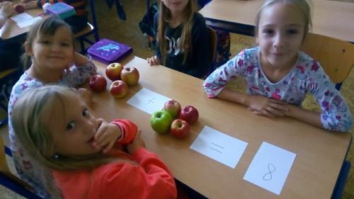 Jablíčkový den na prvním stupni