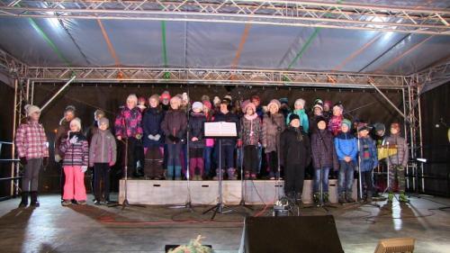 Vánoční zpívání na náměstí 17.12